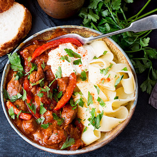Hungarian Goulash With Sour Cream Recipes.
