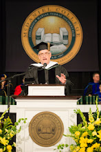 Photo: Commencement speaker and honorary degree recipient Alan Rabinowitz '74, world-renowned wildlife conservationist and one of the world's leading big cat experts