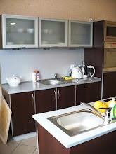 Photo: jedno ze stanowisk w pracowni - kuchni