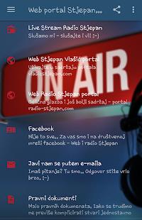 Web i radio Stjepan - náhled