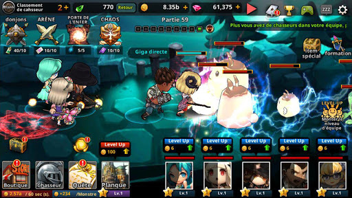 Dungeon Breaker Heroes  captures d'écran 5