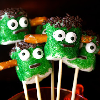 How to Make Frankenstein Marshmallows for a Halloween Treat