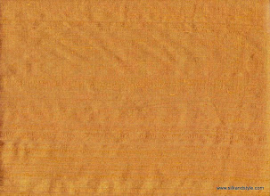 Photo: 100% Handloom Dupioni Silk - H/L Brnt. Gold