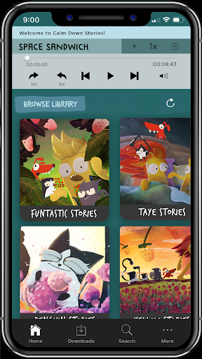 Calm Down Stories - Funtastic audio stories 4 kids screenshot 1