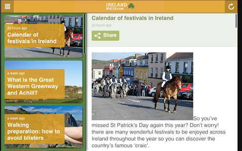 Wild Atlantic Way Ireland Tour- screenshot thumbnail