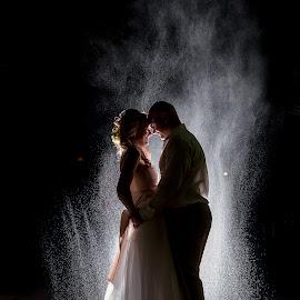 NIght by Lood Goosen (LWG Photo) - Wedding Bride & Groom ( wedding photography, wedding day, night, wedding photographer, bride and groom, bride, bride groom )
