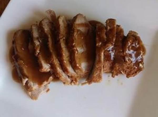 Marinated Asian Pork Tenderloin With Hoisin Gravy Recipe