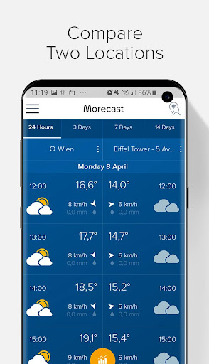 Weather Forecast, Radar & Widget - Morecast 4.0.27 Screenshots 6