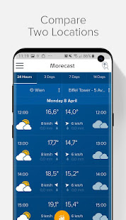 App Weather Forecast, Radar & Widgets - Morecast APK for Windows Phone
