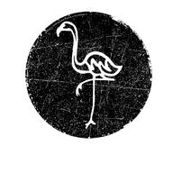 Logo of Flamingo Blue Rotating
