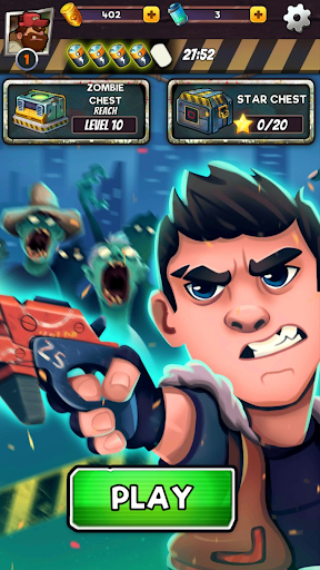 Zombie Blast - Match 3 Puzzle RPG Game modavailable screenshots 14