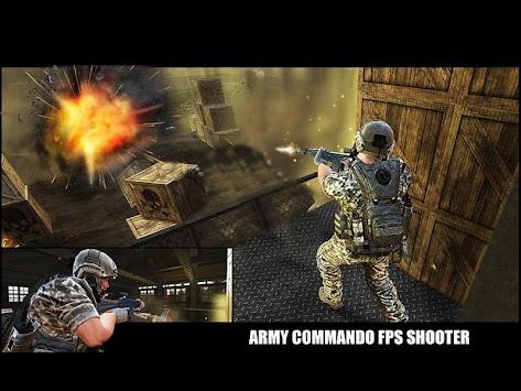 US Army Commando Survival - FPS Shooter