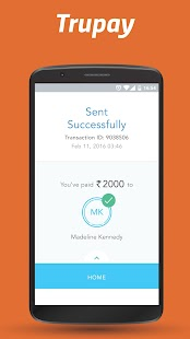Trupay - UPI Payments & Money Transfer App- screenshot thumbnail