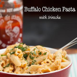 Buffalo Chicken Pasta with Sriracha