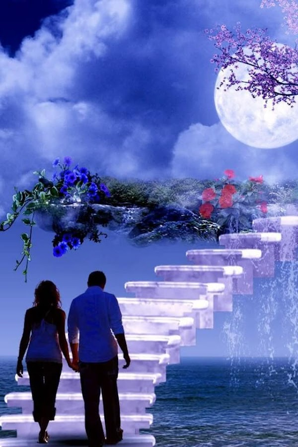 Romantic Love couple Wallpaper For Phone : Romantic Live Wallpaper - Android Apps on Google Play