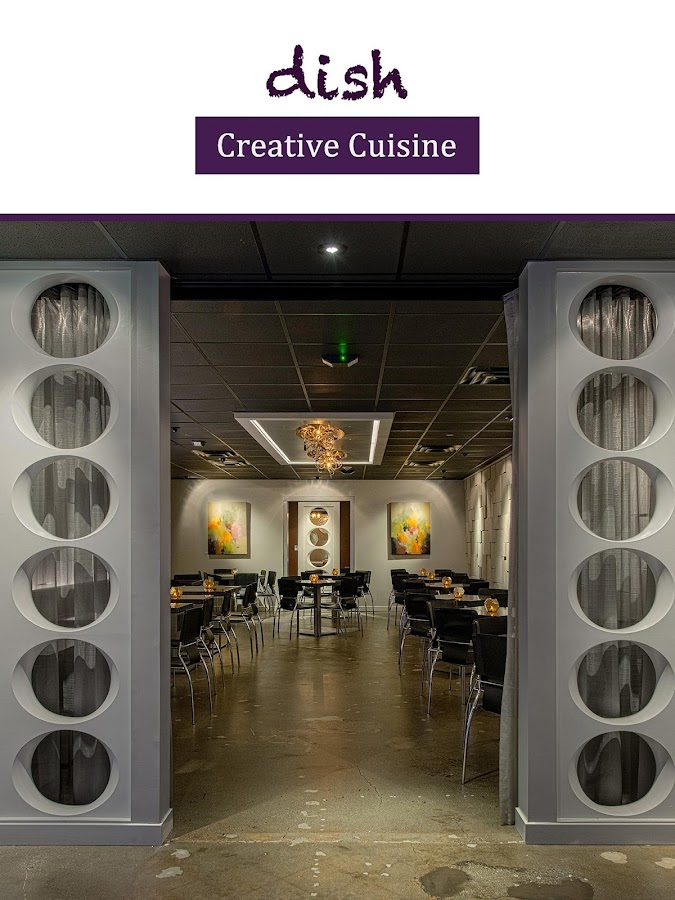 Dish Creative Cuisine- screenshot