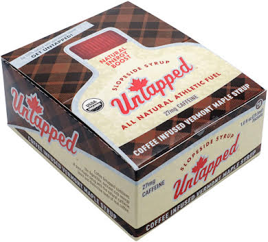 UnTapped Maple Syrup Coffee Infused Athletic Fuel Gel Packets: Box of 20 alternate image 0