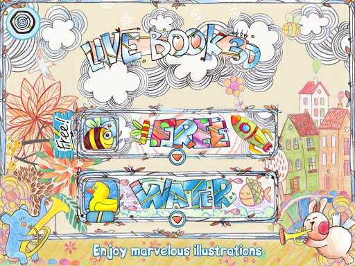 儿童着色3D LiveBook3D
