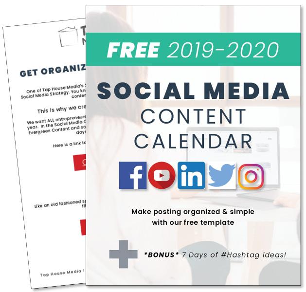 2019-2020 Social Media Content Calendar