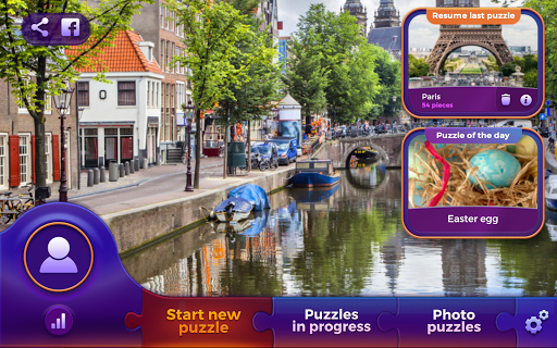 Jigsaw puzzles: Countries 🌎 screenshot 8