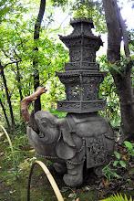 Photo: Zó (elefánt), Nezu múzeum