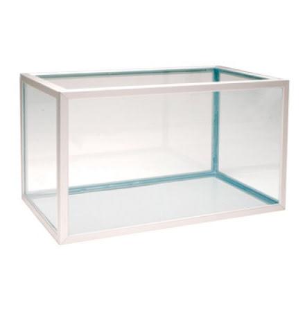 Akvarium 222 liter (naturanodiserad aluminium)
