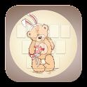 Teddy Bear Theme Keyboard icon