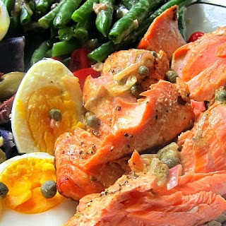 Roasted Salmon Salade Nicoise