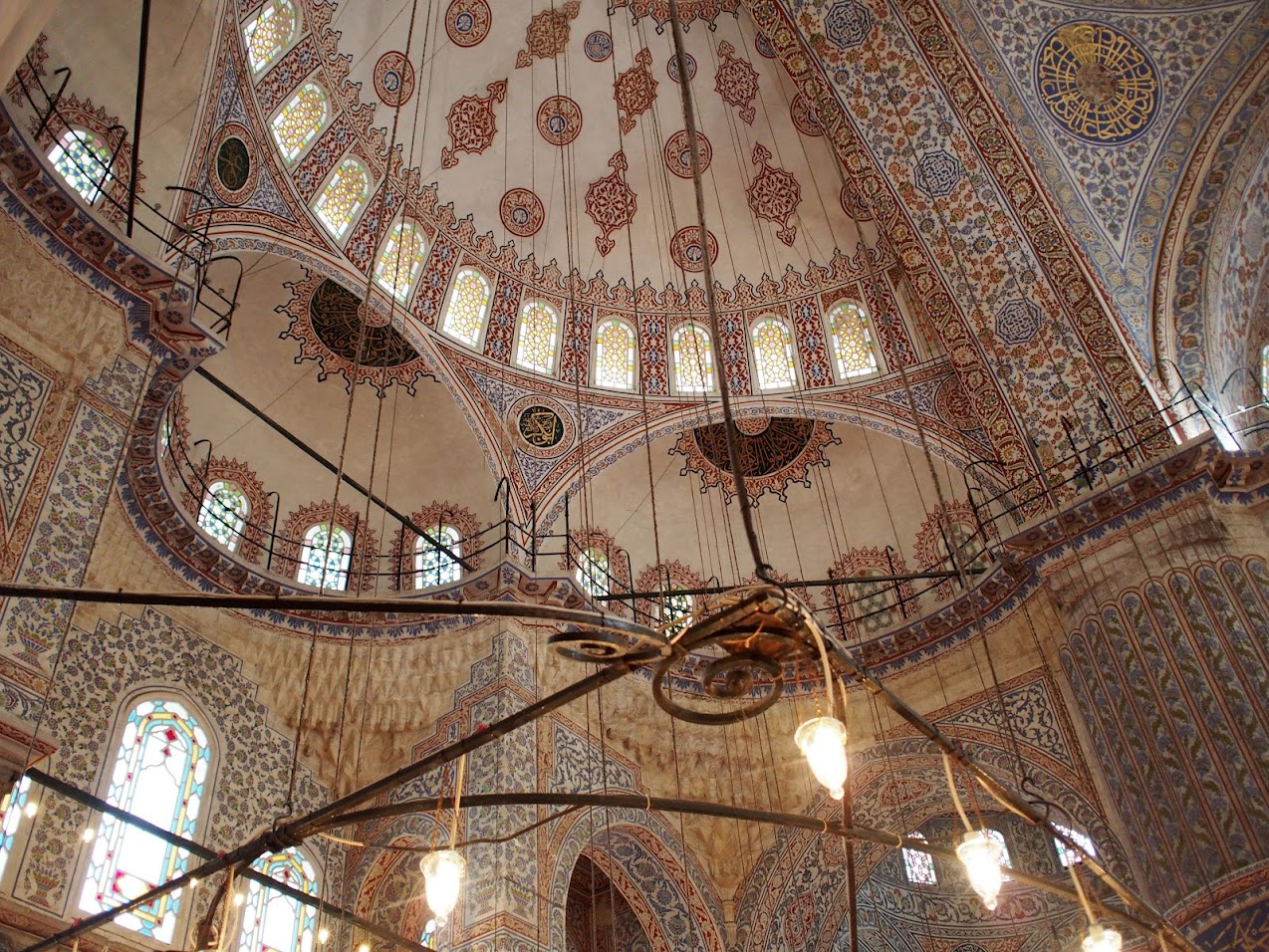 inside blue mosque 2