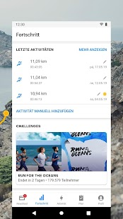 Runtastic Laufen, Sport & Fitness Tracker Screenshot