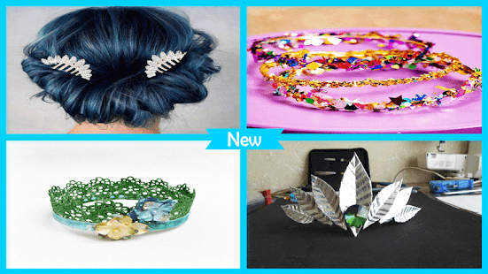 New DIY Metalic Crown Tutorials - náhled