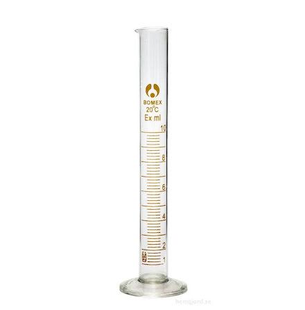 Mätcylinder, glas - 10 ml