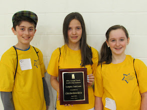 Photo: Youth Leadership Summit Award with Devin, Kylee & Lauren April 18, 2014