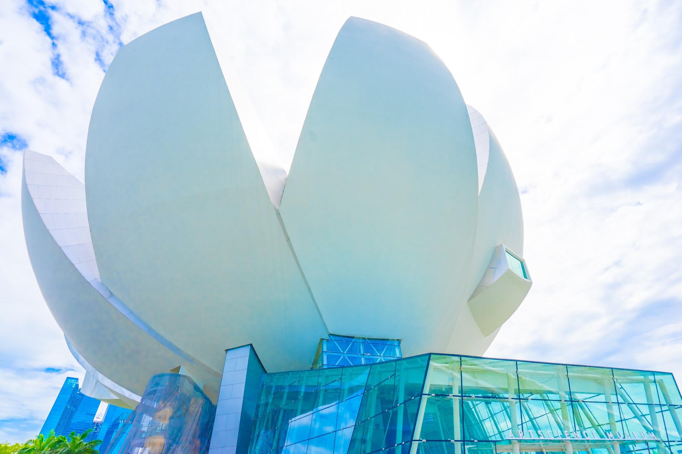 シンガポール アートサイエンス・ミュージアム