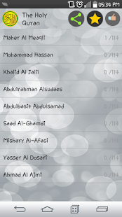 The Holy Quran : 95 Reciters - náhled