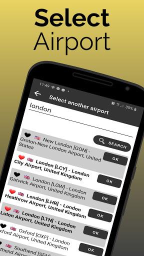 flightinfo - adelaide airport flight information screenshot 3