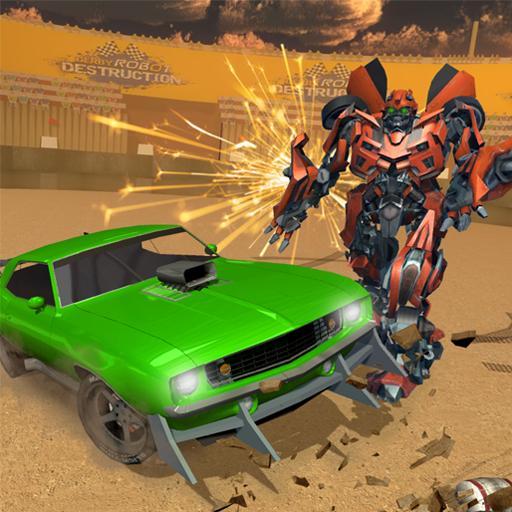 Future Robot Demolition Derby Car Wars