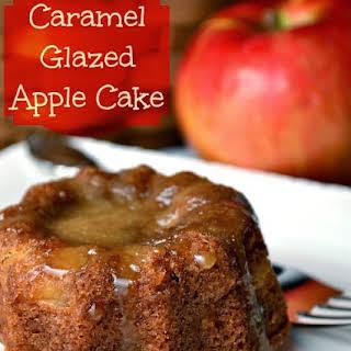 Caramel Glazed Apple Cake.