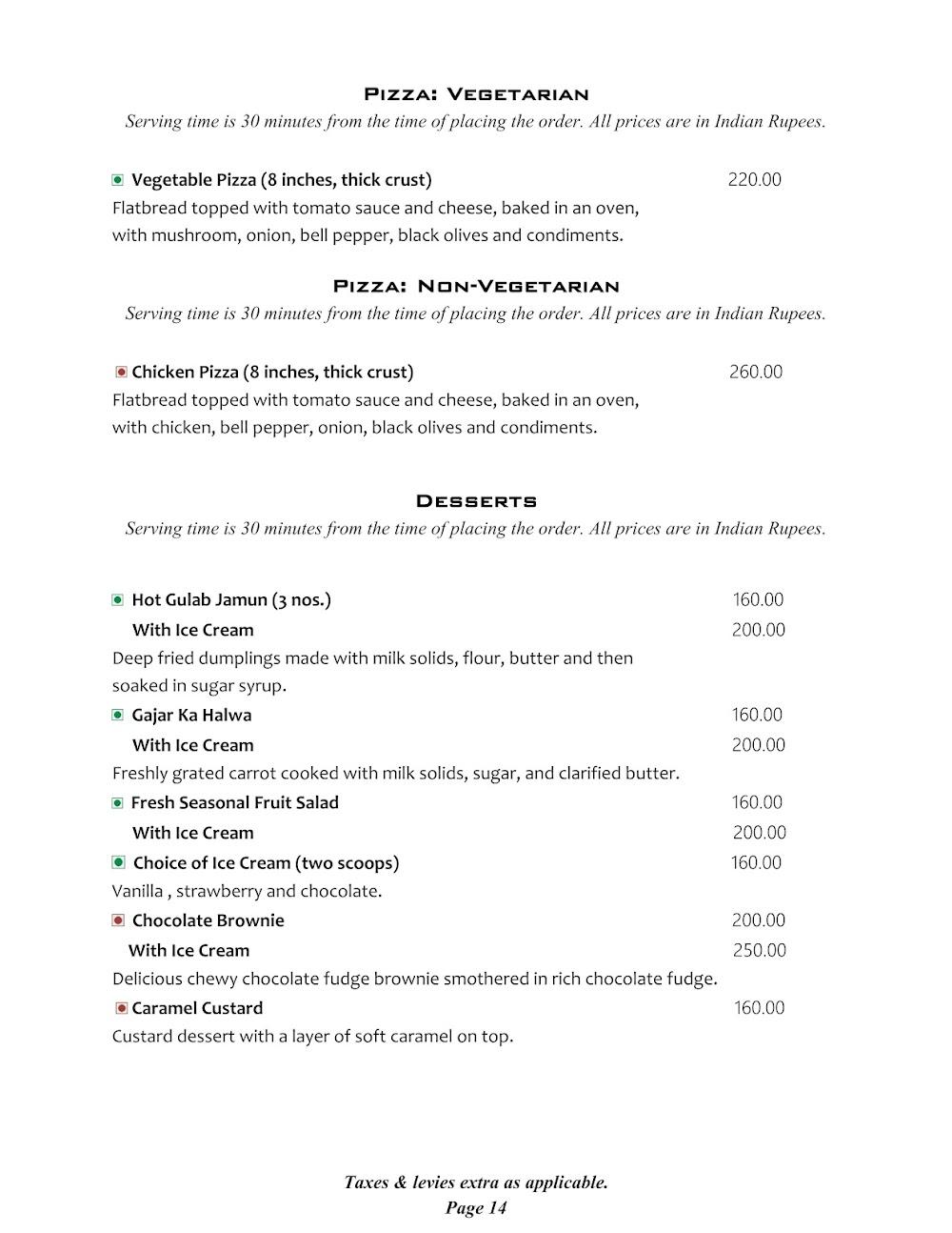 Cafe @ Elanza menu 9
