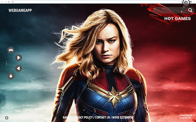 Captain Marvel Hd Wallpapers New Tab