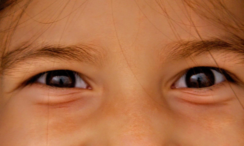 ojos alegría