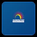 Rainbow Push Convention App icon