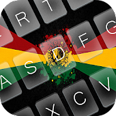 Black Reggae Keyboard