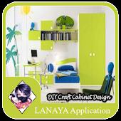 DIY Craft Cabinet Design Ideas