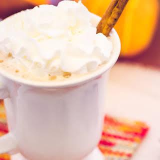 Healthy Pumpkin Spice Latte.