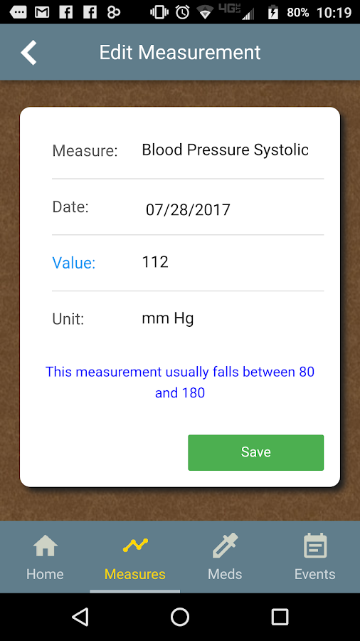 Kidney Health Tracker- screenshot