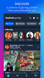 Facebook Gaming (MOD, No Ads): Watch, Play, and Connect 1