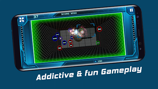 Hyper-Smash: The reverse breakout game android2mod screenshots 1