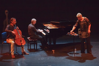 Photo: Bart van Rosmalen, Anto Pett and Anne-Liis Poll: an improvised mono opera