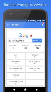 Quigle - Google Feud + Quiz - náhled